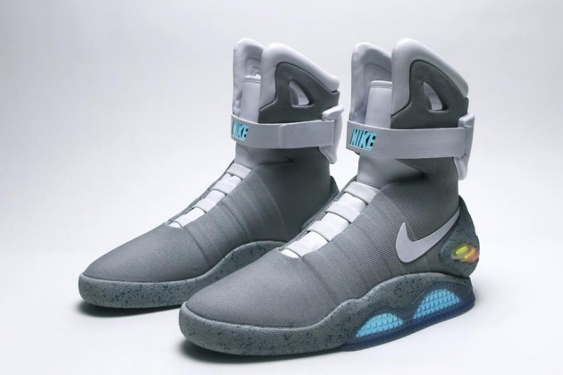 Marty McFly's Power laces coming to a Nike Mag near you