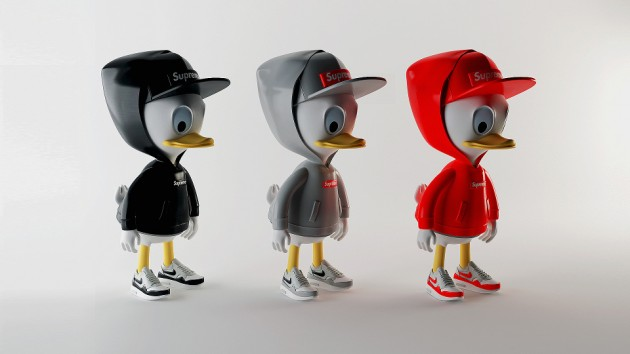 Simeon Georgiev presents Huey, Dewey and Louie in Supreme, Nike, Givenchy and MORT