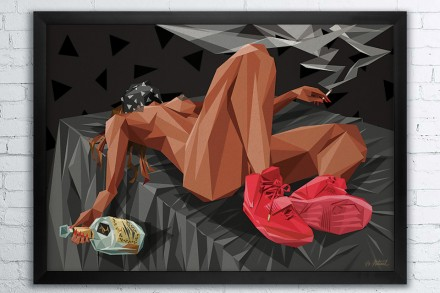 Naturel presents Kanye West Limited edition prints
