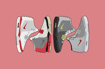 Lime Bath presents Nike Air Yeezy II artwork