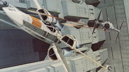 Orignal Star Wars Concept Art