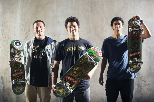 Paul Rodriguez intorduces Primitive Skateboarding