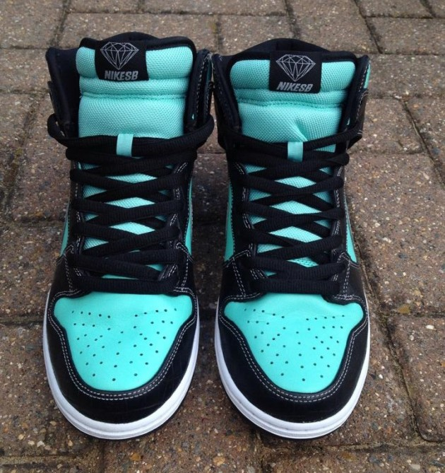 Nike Tiffany Dunk SB high