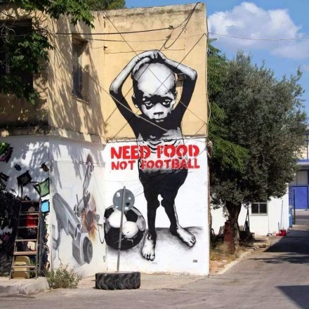 Anti-Fifa Graffiti Campaign