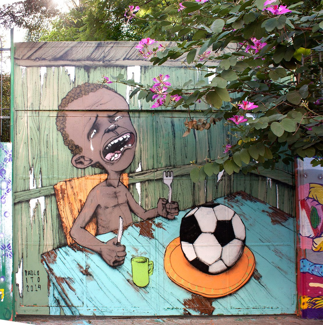 Anti-Fifa Graffiti Campaign 02