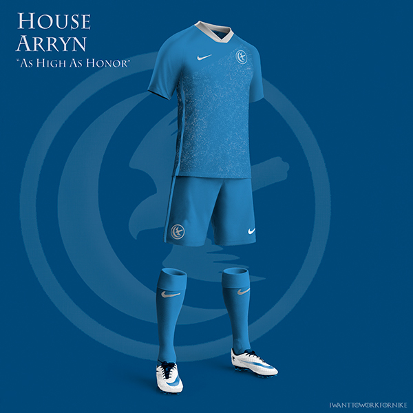 Game of Thrones World Cup Nike Kits 01