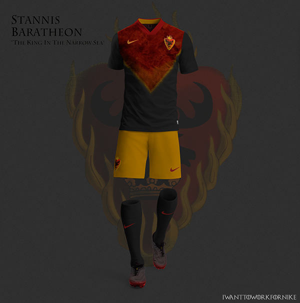 Game of Thrones World Cup Nike Kits 04