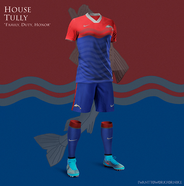 Game of Thrones World Cup Nike Kits 02