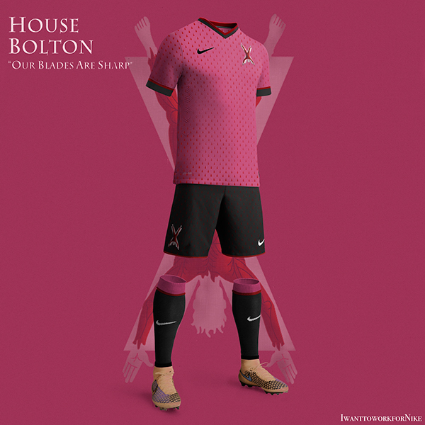 Game of Thrones World Cup Nike Kits 11