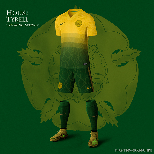 Game of Thrones World Cup Nike Kits 06