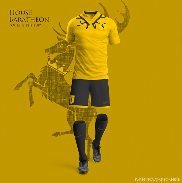 Game of Thrones World Cup Nike Kits 07