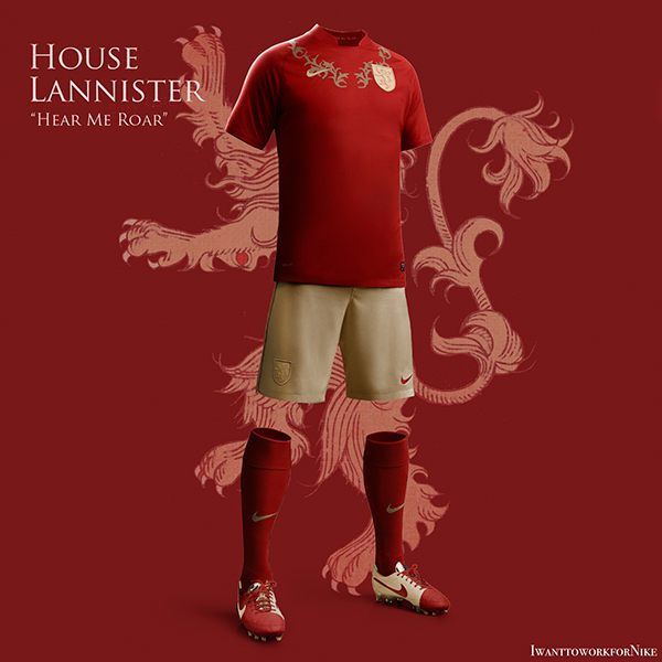Game of Thrones World Cup Nike Kits 03