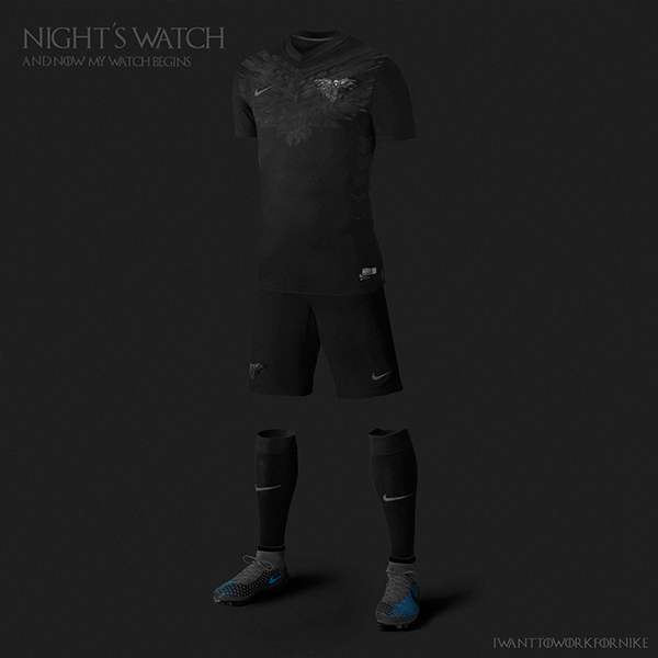 Game of Thrones World Cup Nike Kits 10
