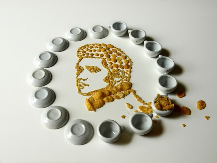 Celebrity Cereal Portrait 6