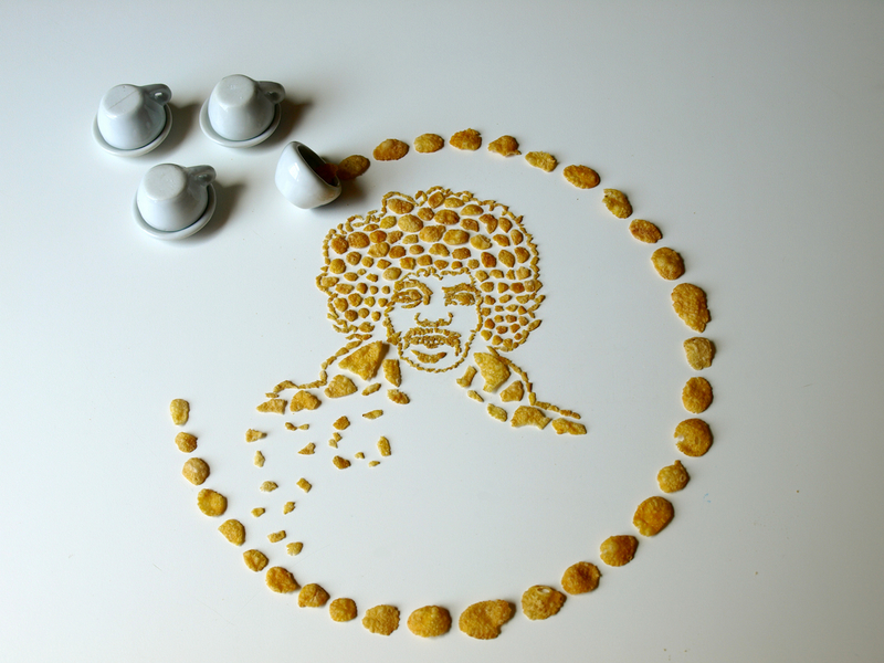 Celebrity Cereal Portrait 1