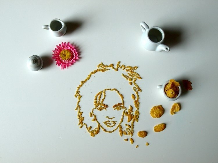 Celebrity Cereal Portrait 2