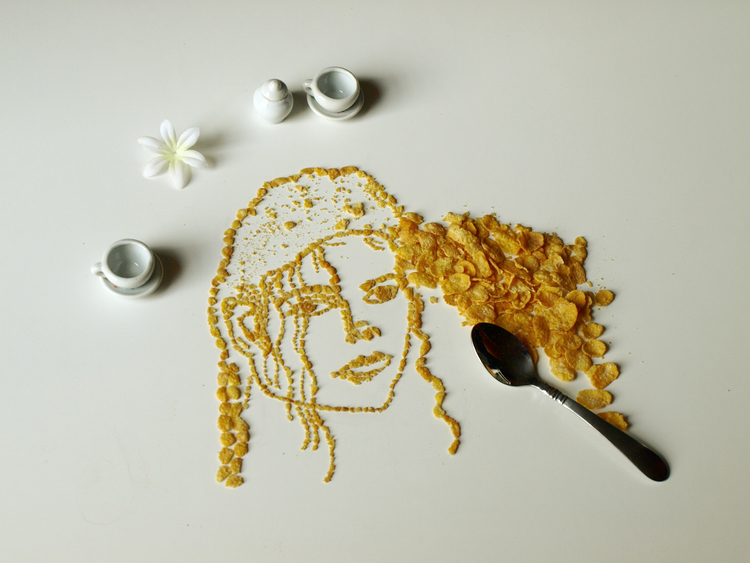Celebrity Cereal Portrait 3