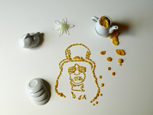 Celebrity Cereal Portrait