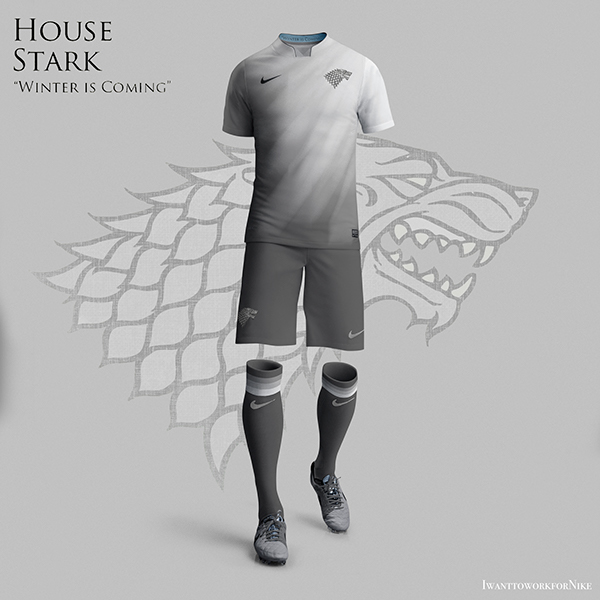 Game of Thrones World Cup Nike Kits 09