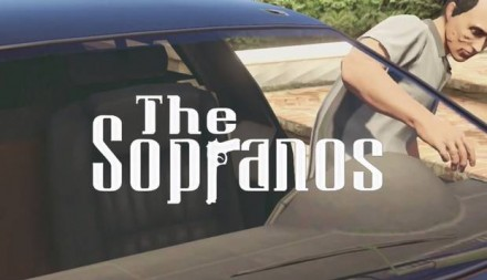 The Sopranos recreated as GTA 5 intro