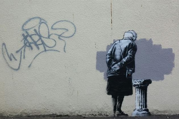 New Banksy in Folkstone