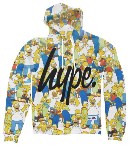 The Hype x Simpsons Collection