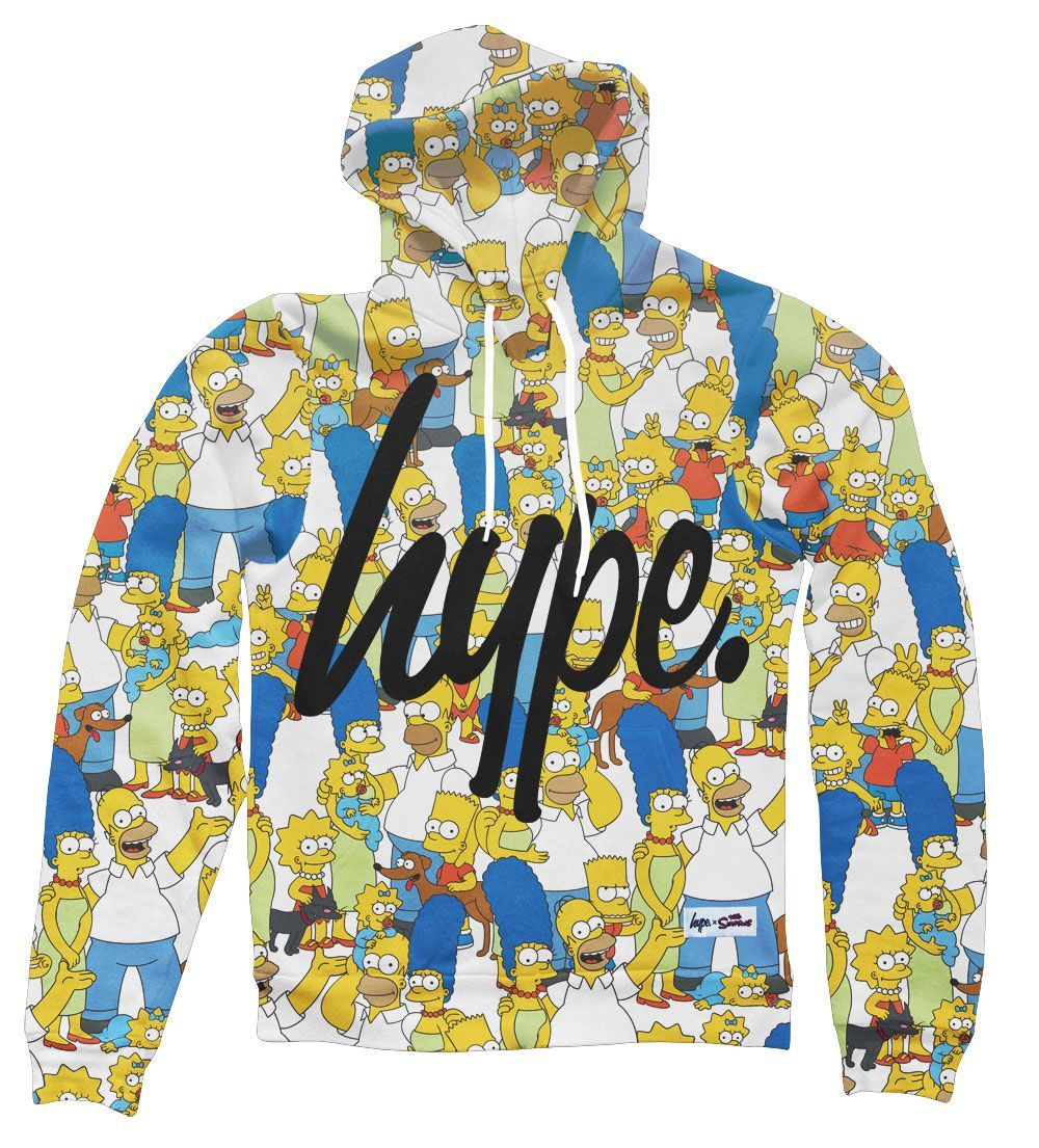 The Hype X Simpsons Collection From Akute Apparel