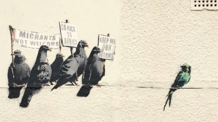 Banksy Artwork Erased