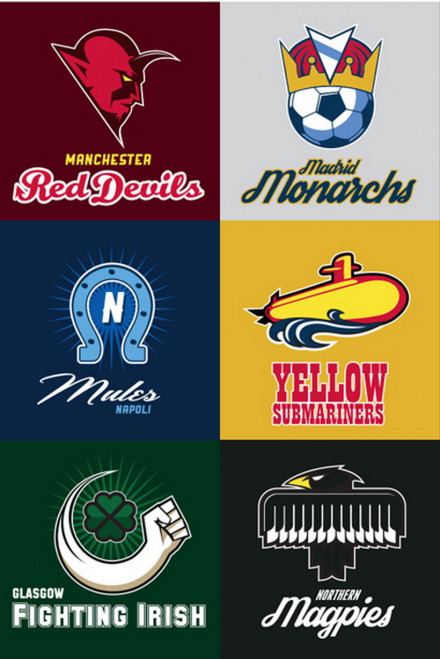 Americanised Football Teams
